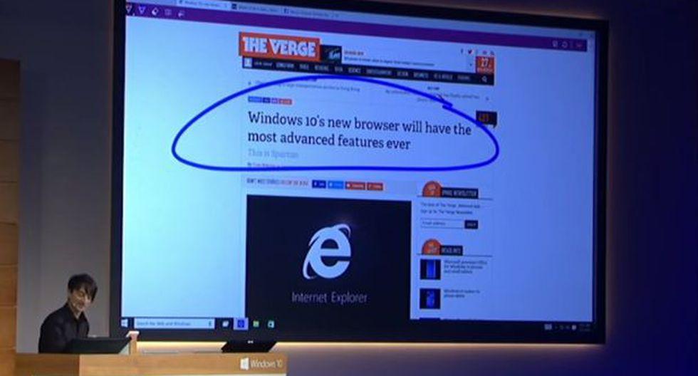 Conoce a Project Spartan, el sucesor del Internet Explorer