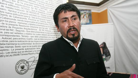 Cáceres Llica dijo que será uno de los primeros en ofrecerse a recibir la vacuna porque cree en su efectividad. (Foto: GEC)