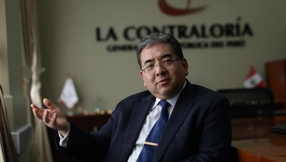 En mandato del contralor Nelson Shack vence en el 2023. El proyecto de ley de Podemos Perú también plantea acortar a cuatro años su gestión, con lo cual cada periodo legislativo podrá elegir a un nuevo titular.  (Foto: GEC)
