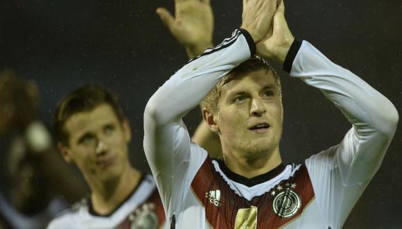Toni Kroos dejaría la selección de Alemania tras la Eurocopa.