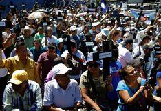 El Salvador: ciudadanos exigen al Congreso aprobar préstamo para plan de Bukele | FOTOS