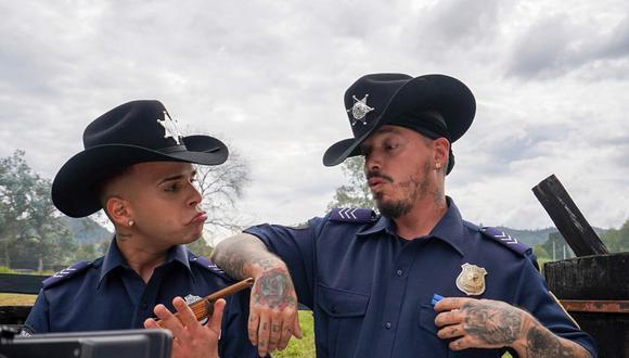 """Kevvo y J Balvin se unen para lanzamiento de """"Billetes azules"""". (Foto: @jbalvin)"""