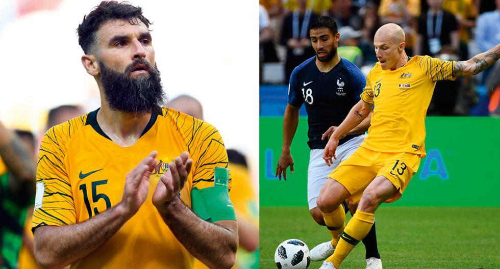 Mile Jedinak (el capitán) tiene tres Mundiales encima y juega de mediocampista en el Aston Villa de la FL Championship de Inglaterra. Pura experiencia. Aaron Mooy (el mejor ante Francia) Mooy ha sido internacional con la selección de Australia en tres partidos. Hoy es figura en Rusia 2018.