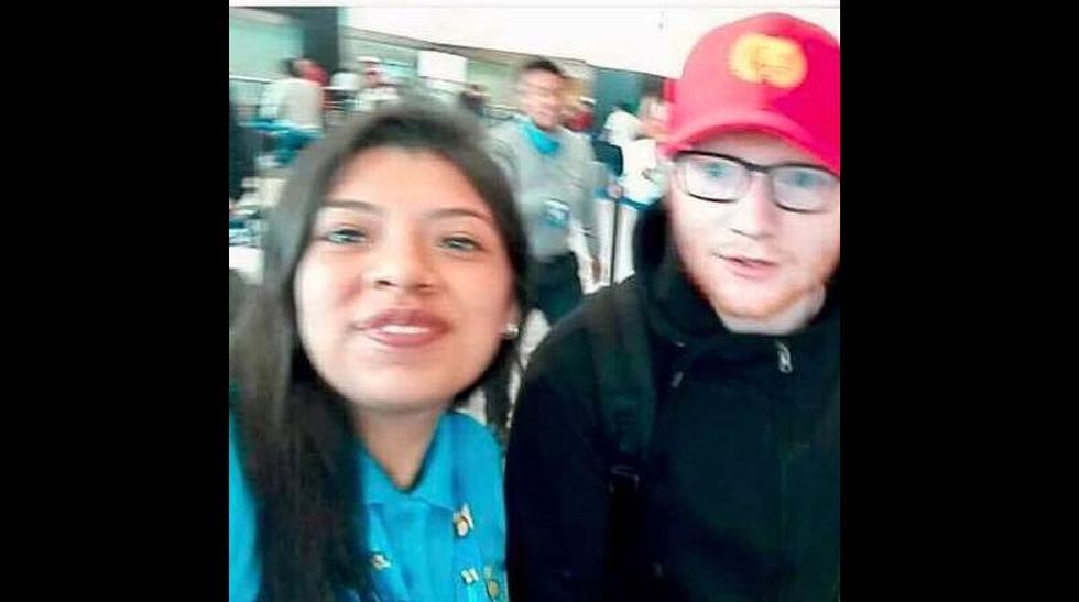 Ed Sheeran en Lima: cantante llegó una semana antes de su show - 3