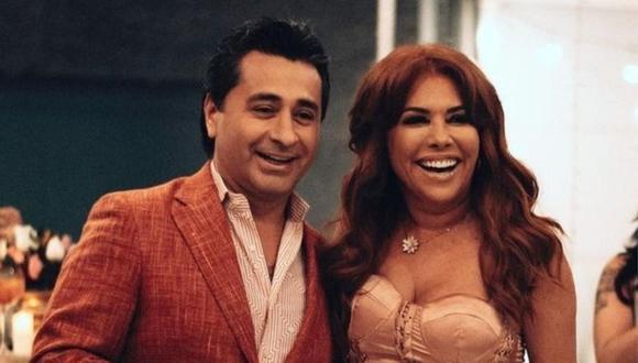 Magaly Medina viajó a Europa con su esposo Alfredo Zambrano. (Foto: Instagram).