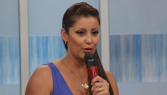 """Karla Tarazona dejó """"Hola a Todos"""" e iría a """"El gran show"""""""