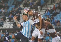 Racing vs. Platense: resultado y goles del partido por la Liga Profesional
