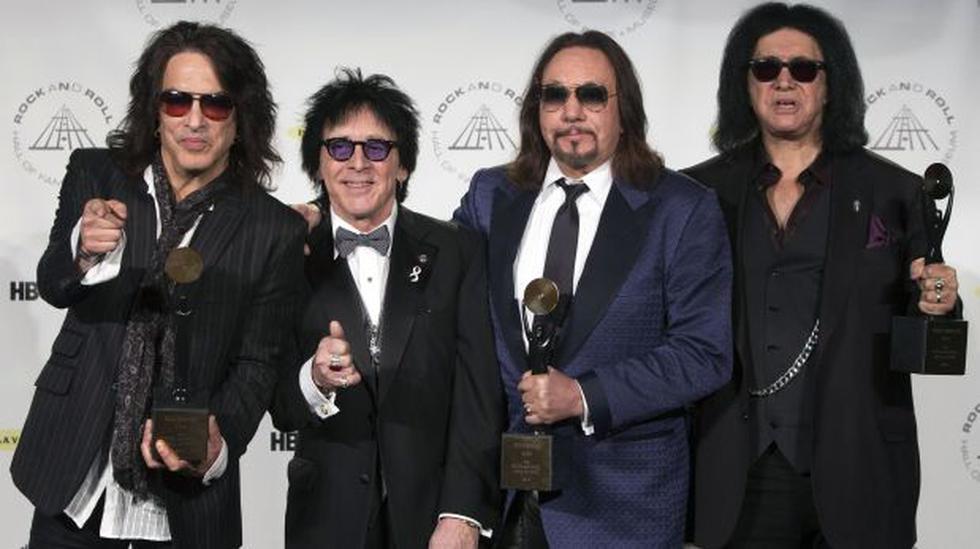 Nirvana y Kiss ya están en el Salón de la Fama del Rock - 2