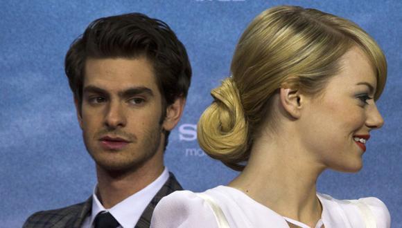 Emma Stone reprendió a Andrew Garfield por comentario sexista