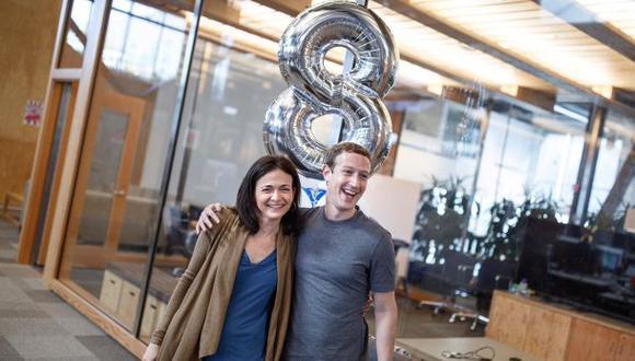 El octavo aniversario de la mujer más poderosa de Facebook