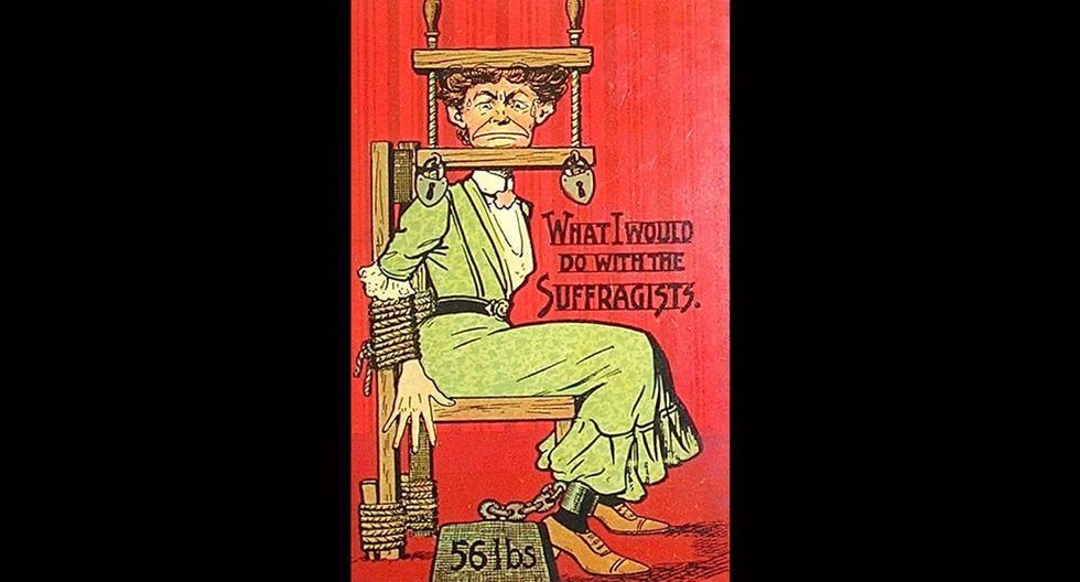 Estos afiches de 1920 contra la mujer indignarán a cualquiera - 10