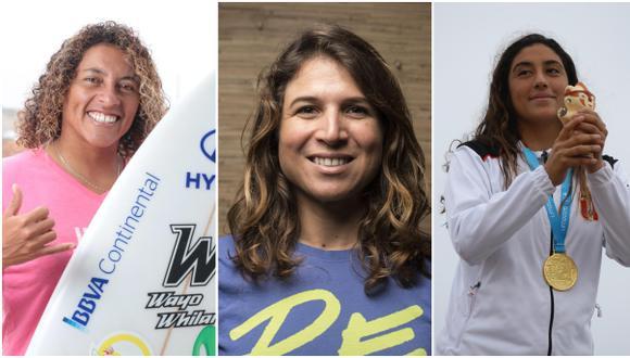Sofía Mulanovich y Anelí Gómez clasificaron a la cuarta ronda, Daniella Rosas deberá luchar en repechaje   Foto: GEC