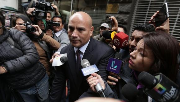 Joaquín Ramírez es investigado por el fiscal de lavado de activos Wilson Salazar Reque. (Foto: GEC)
