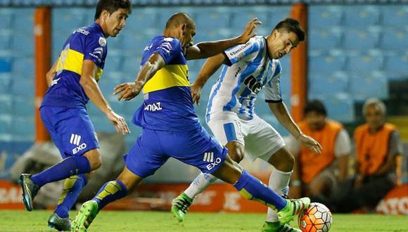 Boca Juniors igualó 0-0 con Racing en debut de Barros Schelotto