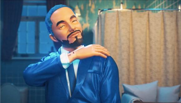 """J Balvin estrenó el videoclip de """"Azul"""" con imágenes animadas. (Foto: Captura)"""