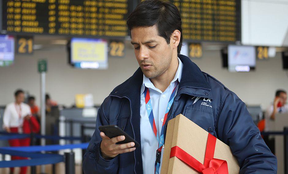 La historia del regalo de Navidad perdido en el aeropuerto Jorge Chávez. (Foto: Lima Airport Partners)