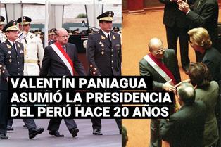 Hace 20 años Valentín Paniagua asumió la presidencia tras la vacancia de Alberto Fujimori