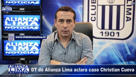 "Sanguinetti: ""Cueva le faltó el respeto al cuerpo técnico"""
