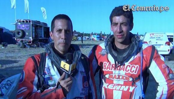 Dakar 2014: peruanos pasaron complicada prueba en cuatrimotos