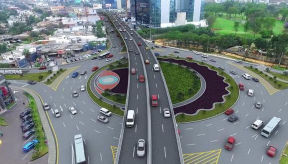 Hoy inician plan de desvío vehicular por obras en óvalo Monitor Huáscar. (Foto: Municipalidad de Lima)