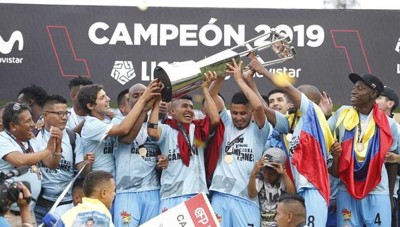 Binacional, campeón de la Liga 1 de Perú. (Foto: GEC)