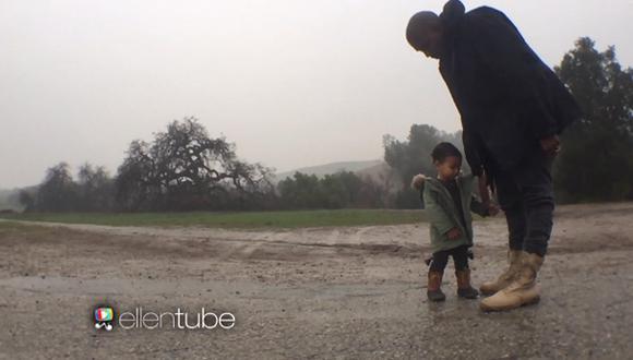 Kanye West y su hija North protagonizan tierno videoclip