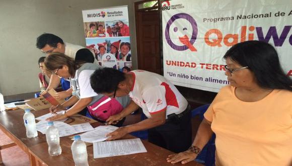 Qali Warma firma convenios con comunidades nativas Awajun