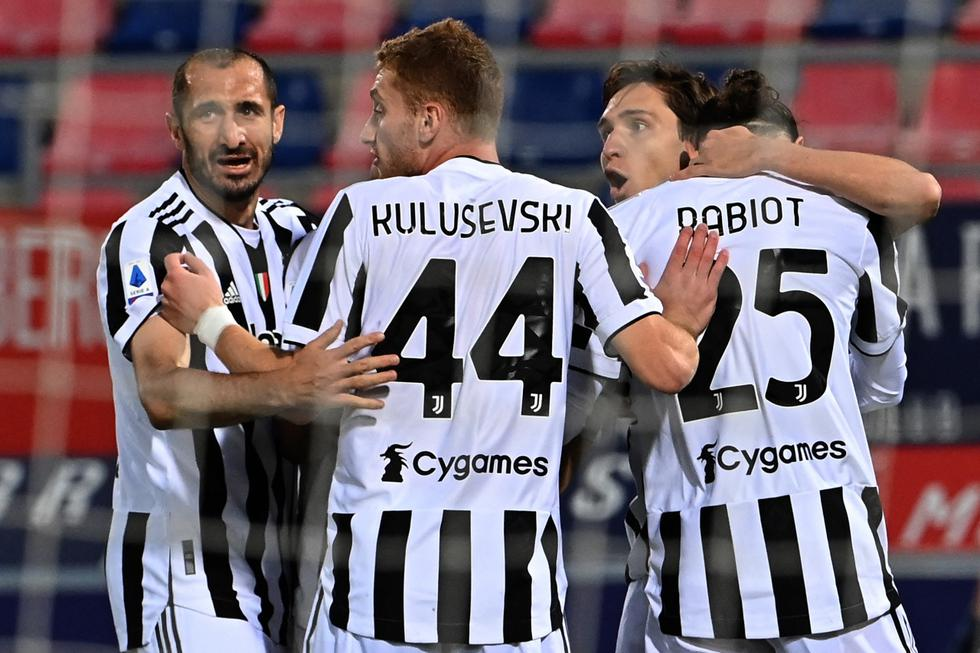 Juventus vence a Bologna por la Serie A de Italia