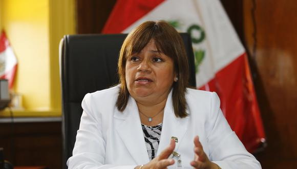 El pasado 3 de abril, Fiorella Palomino Tomás, hija de la exministra de Salud Zulema Tomás, dio a conocer que su madre dio positivo al COVID-19. (Foto: GEC)