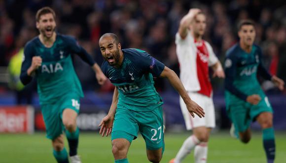 Ajax vs. Tottenham. (AFP)