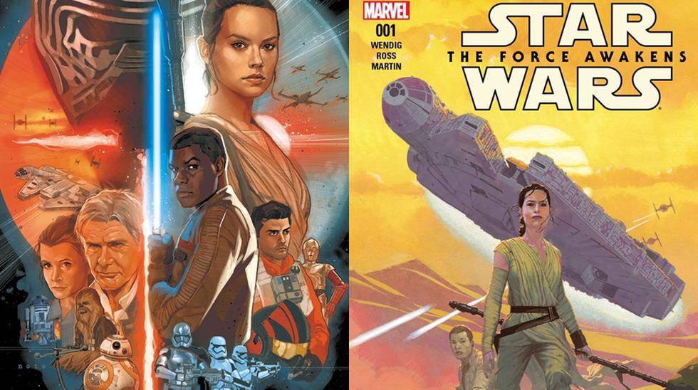 """Star Wars: The Force Awakens"" tendrá cómic - 2"