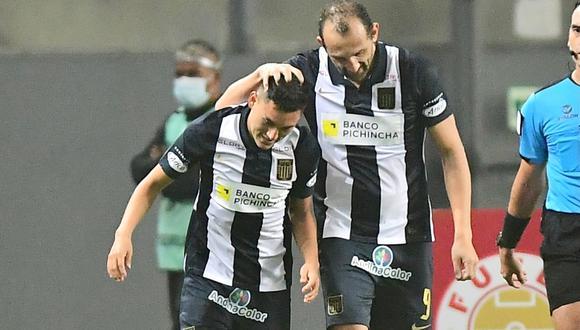 Jaime Duarte destacó la perseverancia de Axel Moyano en Alianza Lima | Foto: @ClubALoficial