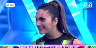 EEG: Ducelia Echevarría dibujó dos cuernos en el rostro de Isabel Acevedo