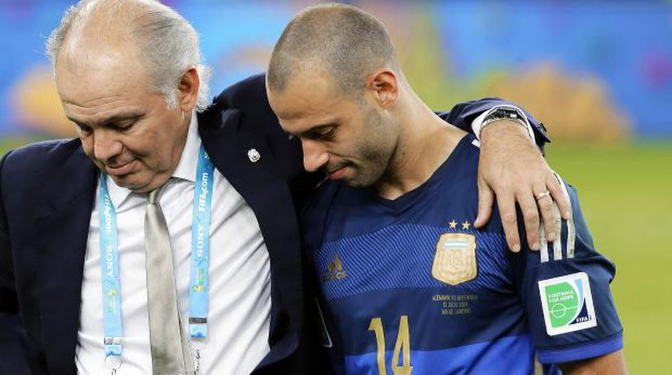 Messi convenció a Mascherano de no renunciar a su selección - 2