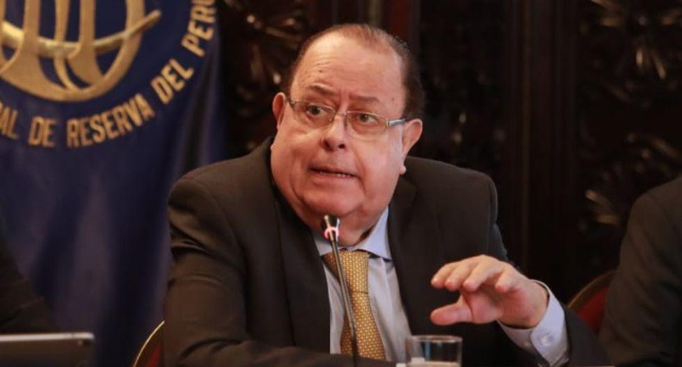 """Julio Velarde, presidente del BCR, señaló que se trata de una propuesta """"populista"""" de parte de la presidenta del Tribunal Constitucional, Marianella Ledesma. (Foto: GEC)"""