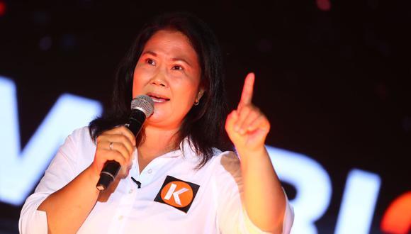 Fujimori Higuchi renovó su círculo de confianza para esta elección, luego de que el Poder Judicial le prohibiera mantener contacto con Ana Herz de Vega y Pier Figari, quienes fueron sus principales asesores. (Foto: GEC)