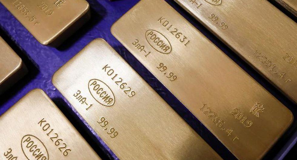 Los futuros del oro en Estados Unidos perdían un 0.5% a US$ 1,341.70 la onza. (Foto: Reuters)