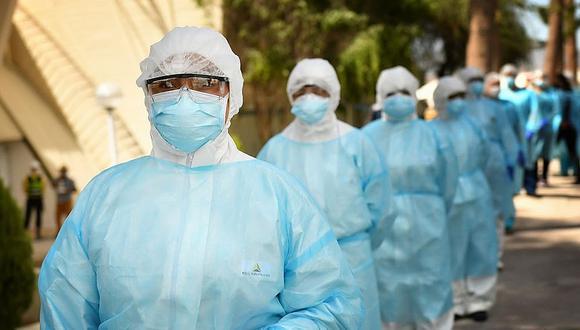 Los profesionales de la salud contratados por el Minsa atenderán casos COVID-19. (GEC)