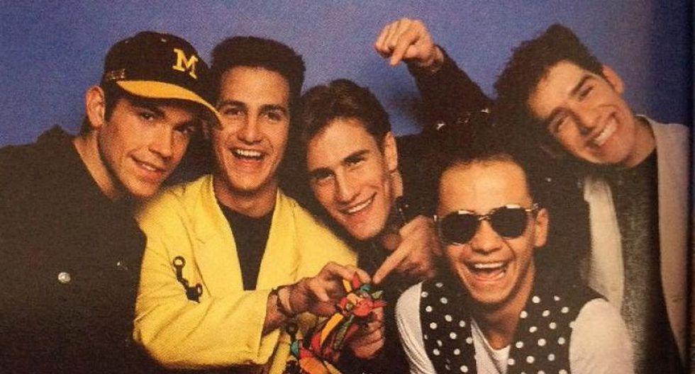 Magneto fue una de las bandas masculinas de pop más famosas de México en los 80 y 90 (Foto: GEC)