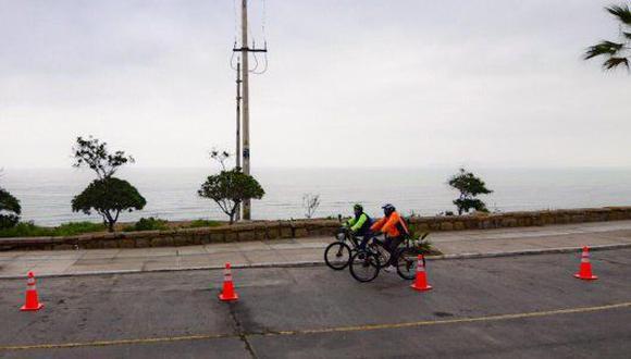 Tiene una distancia de 1.3 km. y  comprende las zonas de Malecón Paul Harris, Malecón Sousa, y Malecón Pazos (ida y vuelta).