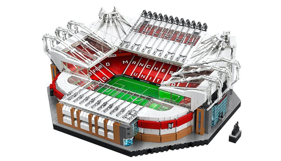 El estadio Old Trafford de Inglaterra, casa del club Manchester United, abrió sus puertas un 19 de febrero del 1910. (Foto: Difusión)