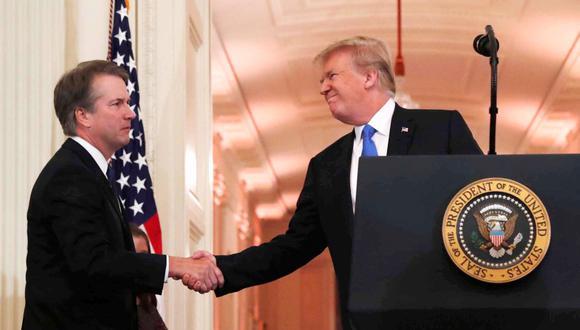 Donald Trump nomina al juez conservador Brett Kavanaugh a la Corte Suprema. (Foto: Reuters/Leah Millis)