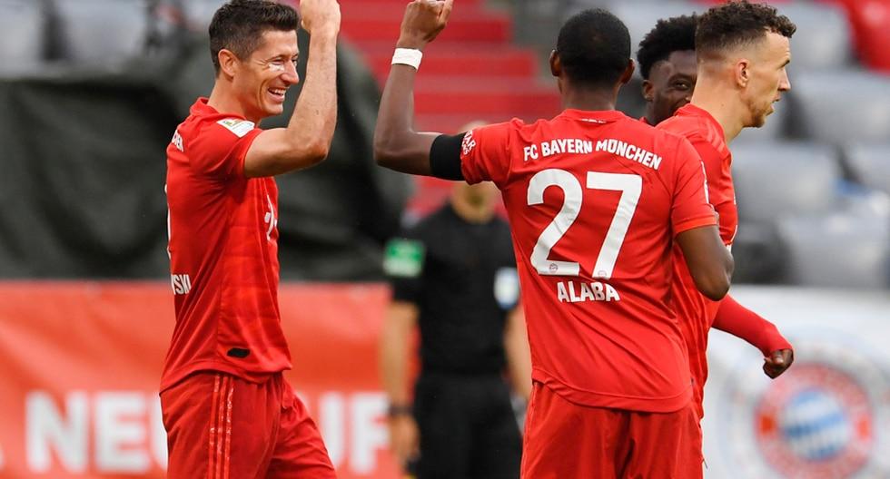 Bayern Múnich vapuleó al Eintracht Frankfurt y estiró su ventaja en lo más alto de la Bundesliga | Foto: AP/EFE/AFP/Reuters