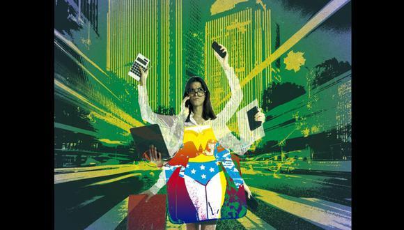 """""""La vida no deber ser una película de Marvel, donde se requieran superpoderes para poder enfrentarla"""". Lee la columna de Luciana Olivares. (Ilustración: Kelly Villarreal / Somos)"""