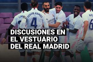 Sergio Ramos e Isco tuvieron una pelea tras el triunfo del Real Madrid ante el Barcelona