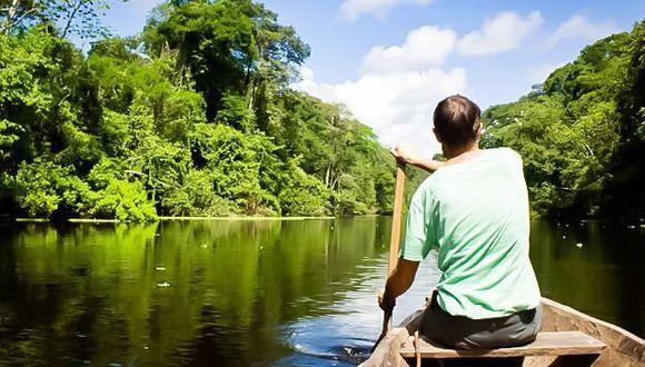 No hay nada más relajante que navegar por las aguas del río Amazonas y disfrutar de la naturaleza viva. (Foto: Difusión)