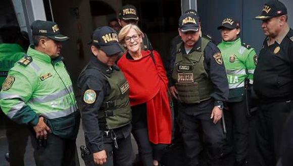 Susana Villarán será excarcelada después de 12 días de que se dispusiera su arresto domiciliario. (Fotos: GEC)
