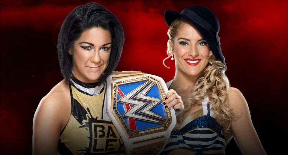 Bayley vs Lacey Evans. (WWE)