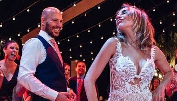 Juliana Oxenford le dedica romántico mensaje a su esposo por sus dos años de matrimonio. (Foto: @julianaoxenford.oficial)