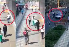 San Isidro: capturan a presunto autor del robo a mujer en calle Las Begonias | VIDEO